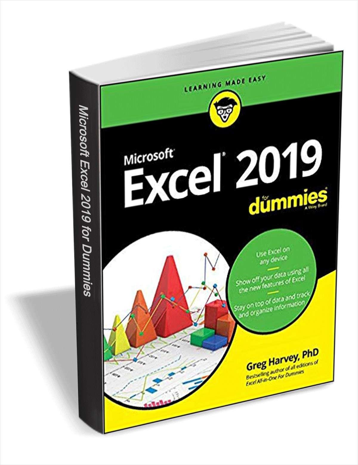 Ebook Excel 2019 pour les nuls Gratuit (Numérique, Anglais - tradepub.com)