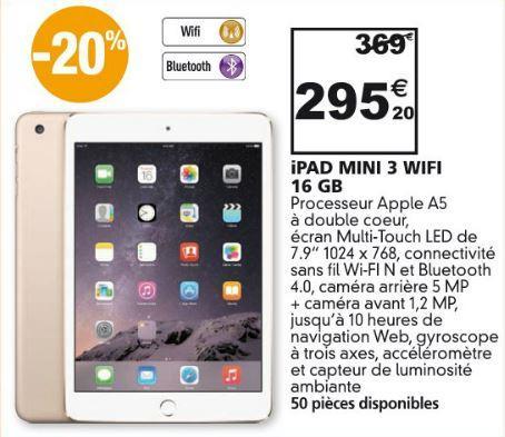 """Tablette 7.9"""" Apple iPad Mini 3 Wifi - 16 Go"""