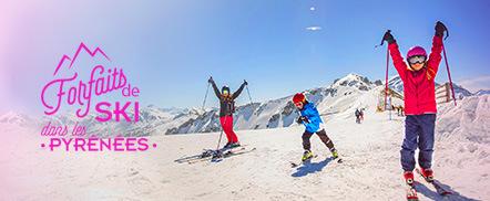 Sélection de Forfaits de Ski dans les Pyrénées en promotion - Ex : Forfait Journée Cambre d'Aze