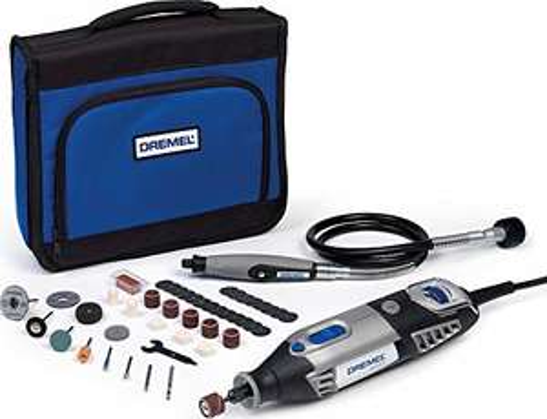 Outil rotatif multifonction Dremel 4000 (+ 45 accessoires) - 175 W