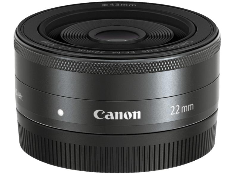 Objectif Canon EF-M 22mm f/2 STM - Noir (Frontaliers Suisse)