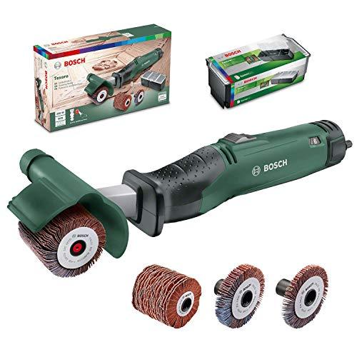 Ponceuse multifonctions Bosch Texoro - 250 W, 3 Accessoires, coffret d'accessoires, dans carton