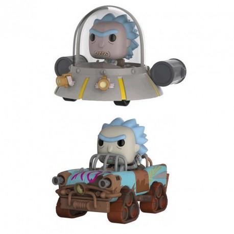 2 Figurines Pop XL Rick & Morty