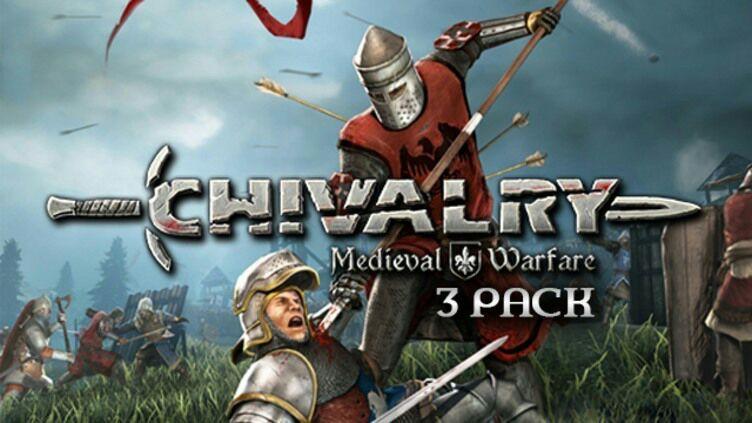 Pack de 3 Clé Jeu Chivalry Medieval Warfare sur PC (Dématérialisé - Steam)