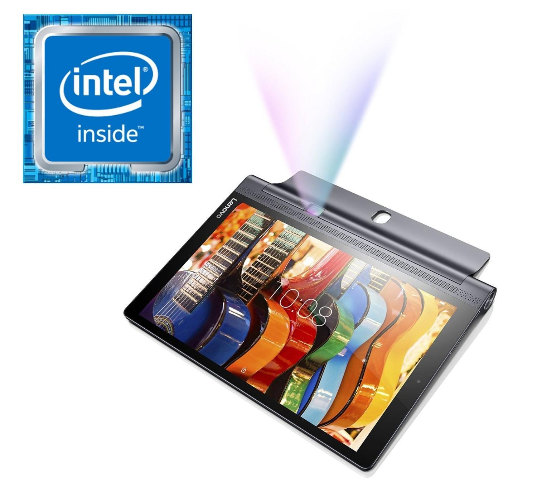 """Tablette 10"""" Lenovo Yoga Tab 3 Pro Noir - QHD, 2 Go de Ram, 32 Go avec Vidéoprojecteur intégré"""