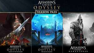Franchise Assassin's Creed en promotion - Ex: Season Pass Odyssey + AC 3 Remastered + AC Liberation Remastered sur PC(Dématérialisé - Uplay)