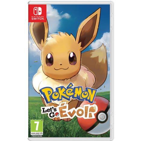 Pokemon Let's Go Evoli sur Nintendo Switch