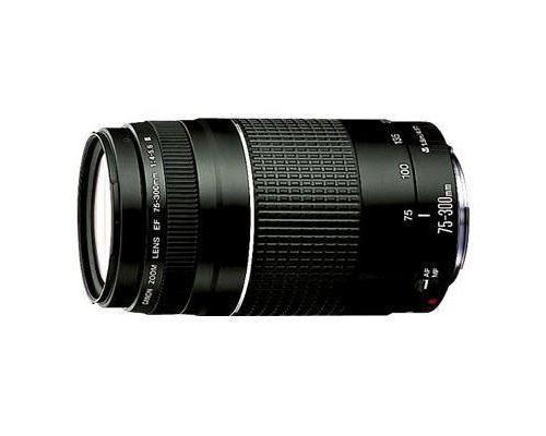 Objectif Canon EF 75-300 mm f/4.0 - 5.6 III (Via Mobile - Vendeur Tiers)