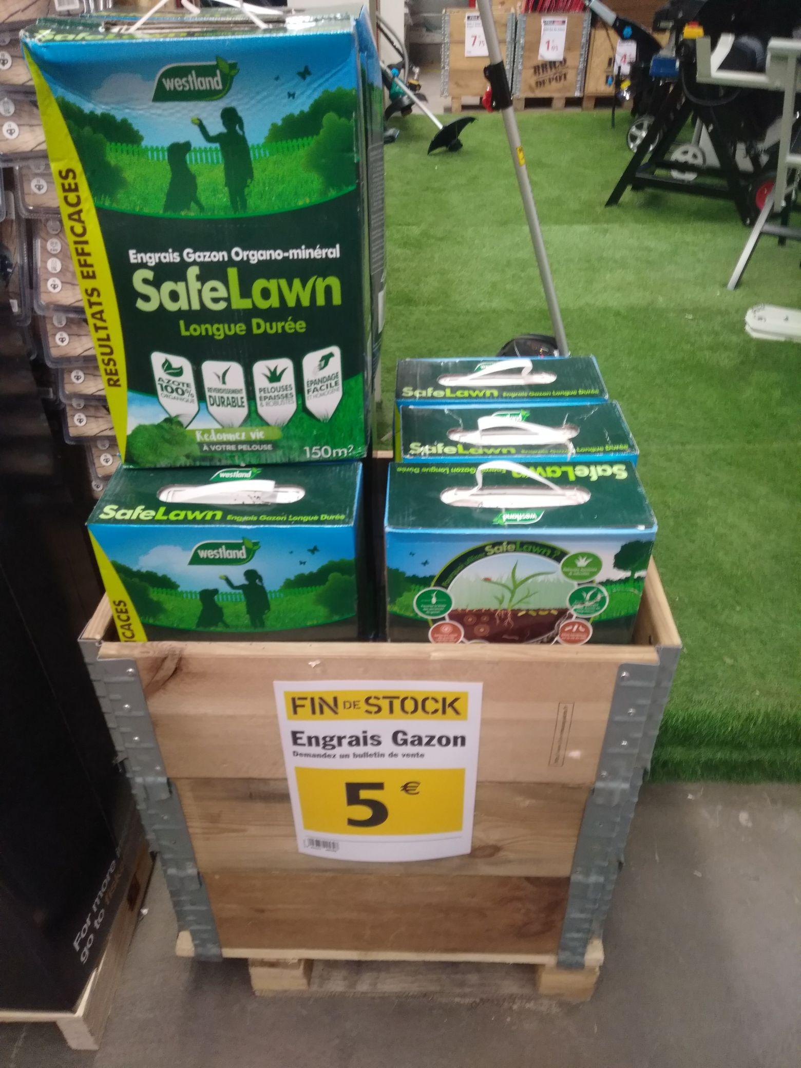 Engrais gazon organique Westland safe lawn (4,5 Kg) - Beauvais (60)