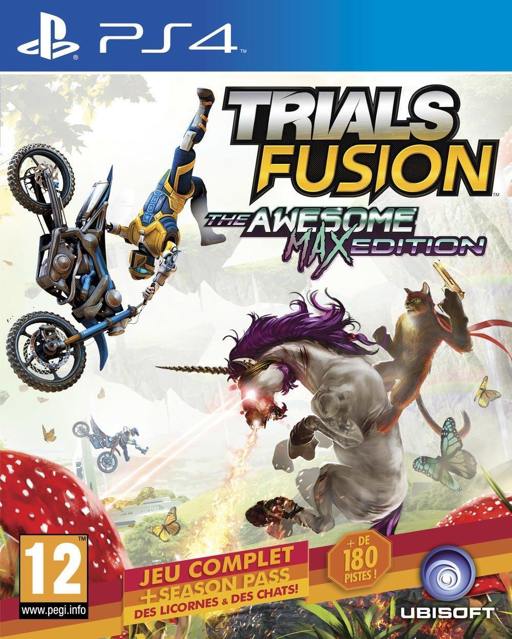 Sélection de Jeux en Promotion - Ex :Trials Fusion : Edition Awesome Max sur PS4
