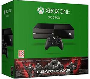 Console Xbox One 500 Go  + Gears of War - Ultimate Edition