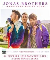 Place pour le concert des Jonas Brothers le 18 février - Sud de France Arena, Montpellier (34)