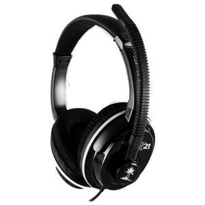Turtle Beach Earforce Px21 Micro Casque Pour Ps3 Xbox 360 Pc