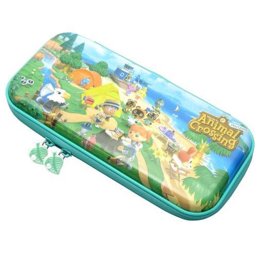 Housse Hori Bleu Animal Crossing pour Nintendo Switch & Switch Lite