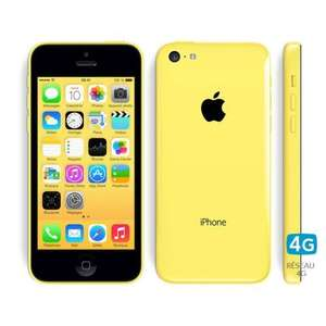 Smartphone Apple iPhone 5C - 16 Go, Jaune