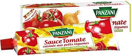 Lot de 2 sauces Panzani Tomate Cuisinée aux Petits Légumes Bio - 2x180 g (via Shopmium)