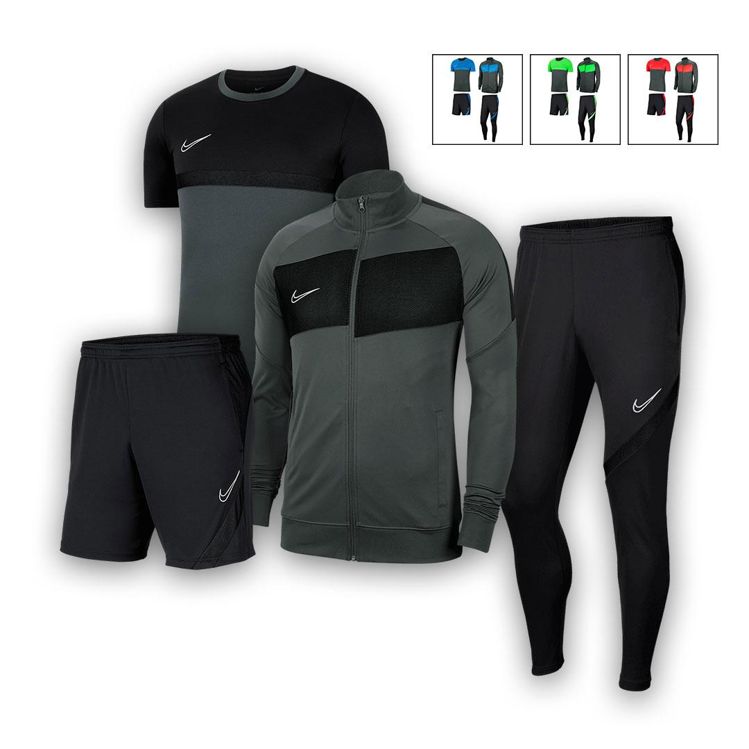 Ensemble sportif Nike Academy Pro (4 pièces) - 4 coloris disponibles - Tailles du S au 2XL