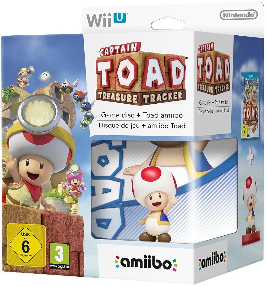 PACK PROMO Captain Toad + Amiibo Toad sur Wii U