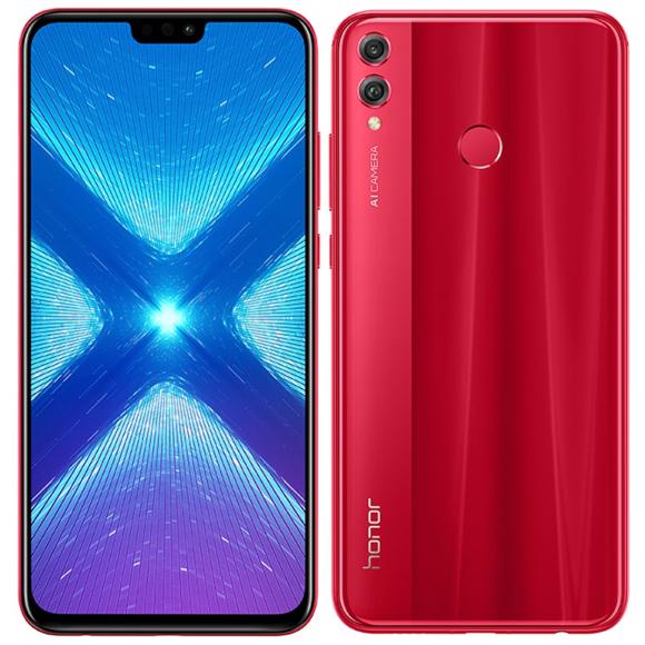 """Smartphone 6.5"""" Honor 8X (Rouge) - Full HD+, Kirin 710, RAM 4 Go, ROM 64 Go"""