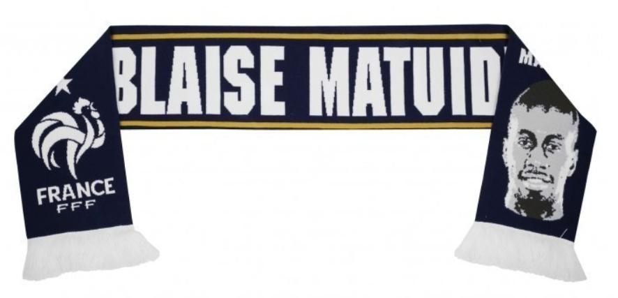 Écharpe FFF Blaise Matuidi