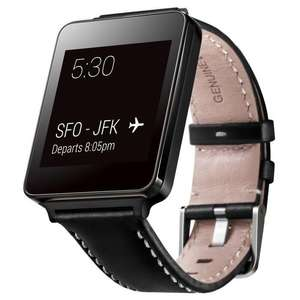 Montre connectée LG G Watch Buddy Cuir - Noir
