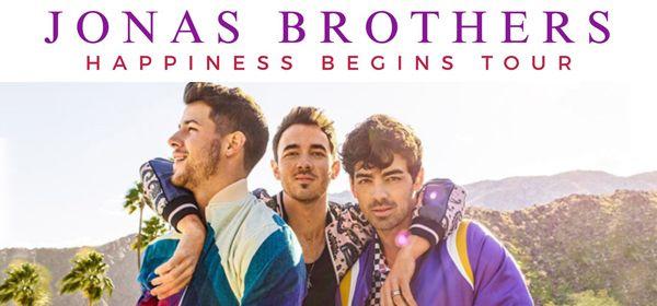 Place pour le concert des Jonas Brothers, Catégorie 1 ou 2 (Frais inclus) - Montpellier (34)