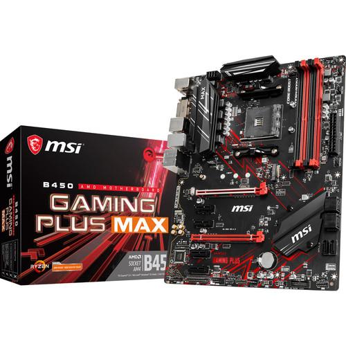 Carte Mère MSI B450 Gaming Plus Max (MAJ Ryzen 3xxx) - AM4