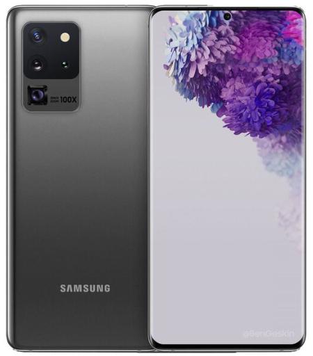 """[Précommande] Smartphone 6.9"""" Samsung Galaxy S20 Ultra 5G - 16 Go RAM, 512 Go + Écouteurs sans fil Galaxy Buds offerts."""