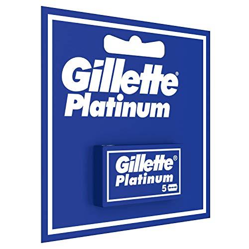 Boite de 5 Lames de rasoir Gillette Platinum