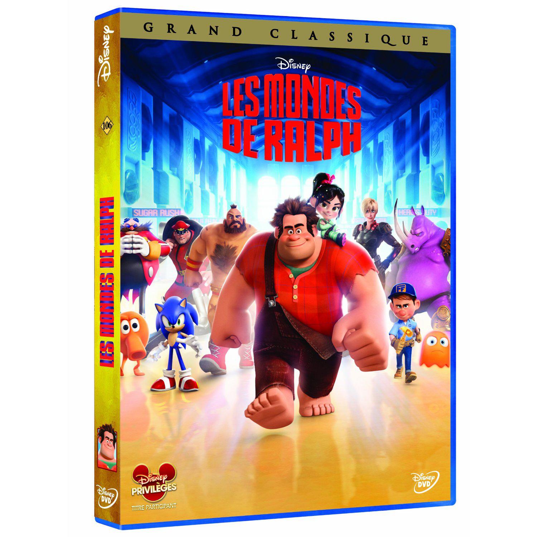 Les Mondes de Ralph DVD