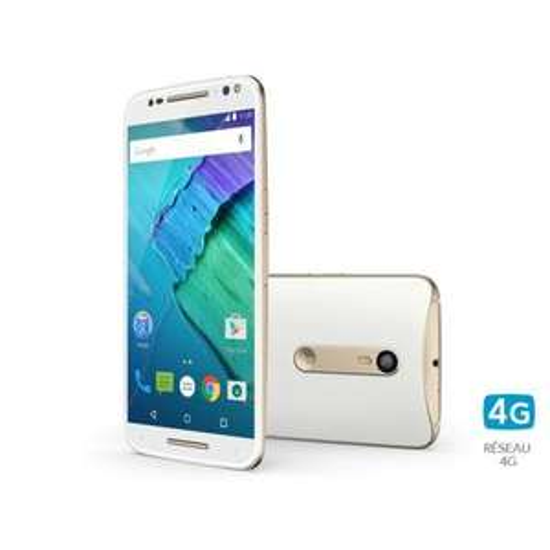 "Smartphone 5.7"" Motorola Moto X Style - 32 Go, Blanc"