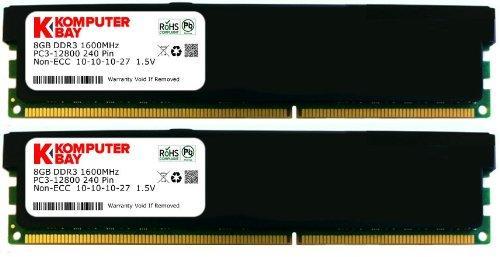 Lot de 2 x 8 Go de Ram (16 Go )  DDR3 PC3-12800 1600MHz DIMM low profile
