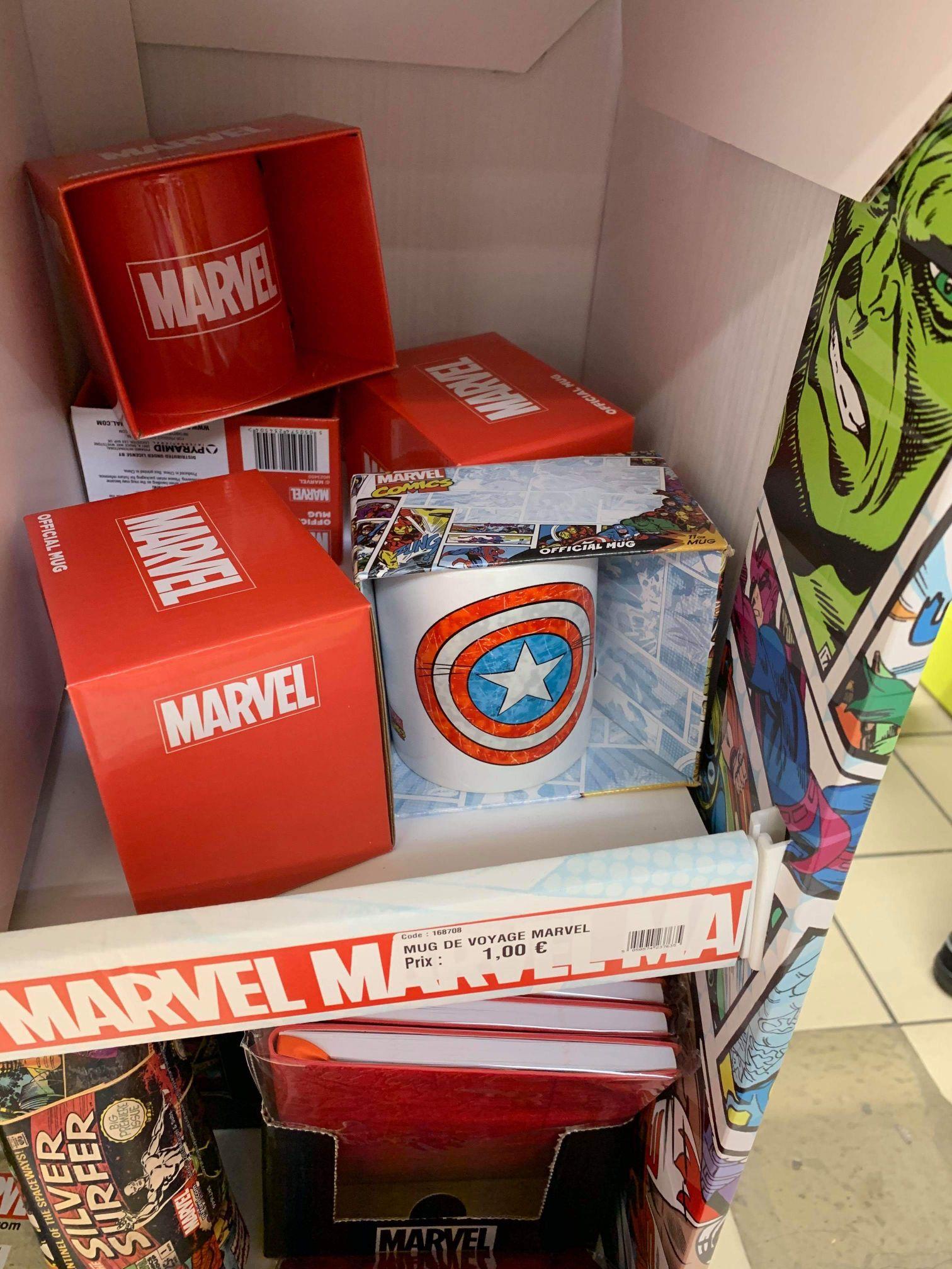 Sélection de produits Marvel en promotion - Magik'Depot Carvin (62)