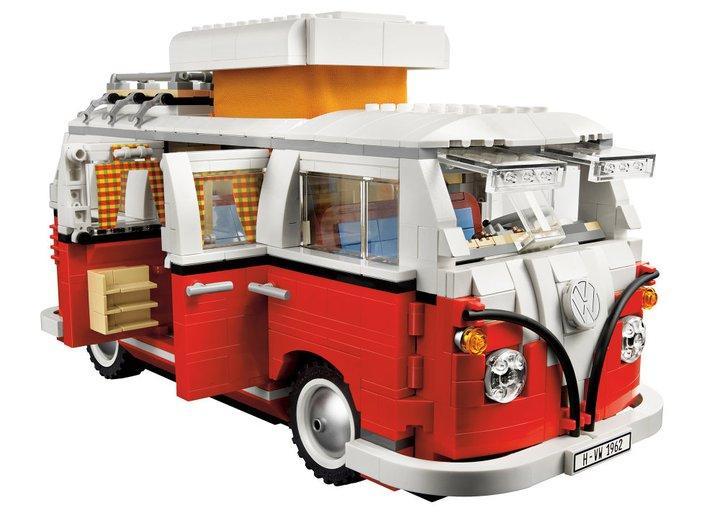 Camping-car Volkswagen Lego Creator Expert 10220