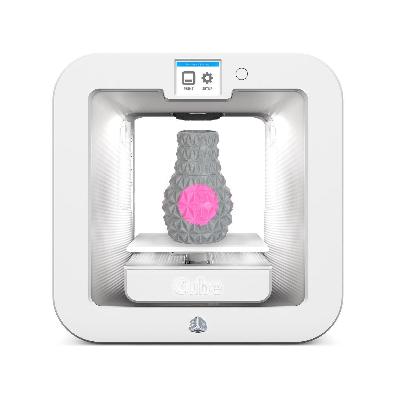 Imprimante 3D CUBE 3D Gen3 blanche