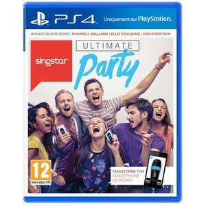 Singstar Ultimate Party sur PS4 (30 chansons)