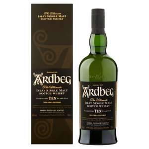 Whisky Ardbeg - Le Single Malt (Via 13.82€ sur la Carte)