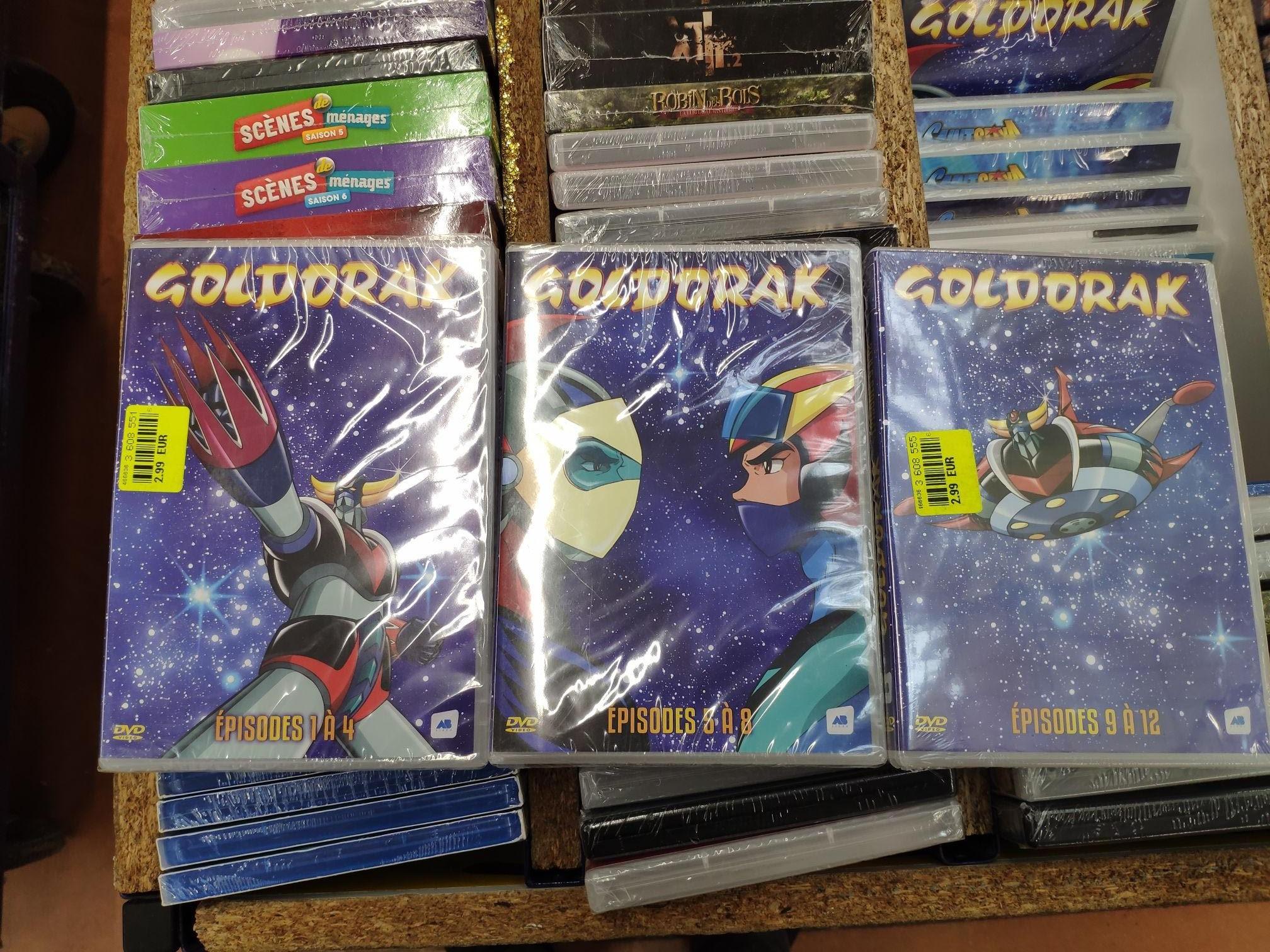 Sélection de DVD's Goldorak à 2.99€ - Gien (45)