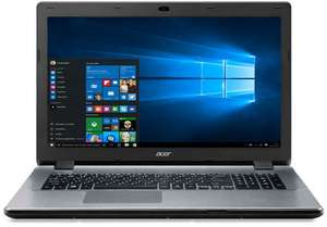 "PC Portable 17,3"" Acer Aspire E5-771G-703B (Intel Core i7-5500U, 8Go RAM, 1To HDD, GeForce 820M)"