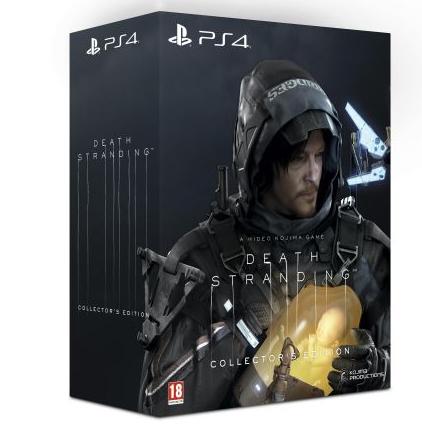 Death Stranding Edition Collector sur PS4 (+ 10€ sur le compte Adhérent)