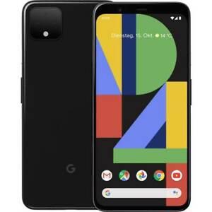 """Smartphone 5.7"""" Google Pixel 4 - 64 Go stockage, 6 Go RAM, Noir"""