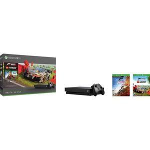 Console Microsoft Xbox One X 1To + Forza Horizon 4 + DLC LEGO + 1 mois Live Gold & Game Pass (214.51€ avec le code AMOUR pour les CDAV)