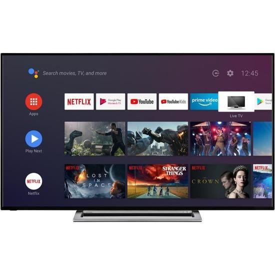 """Sélection de TV Toshiba en promotion - Ex : 58"""" 58UA3A63DG - LED, 4K UHD, HDR, Android TV, Dolby Vision (408.49€ pour les CDAV)"""