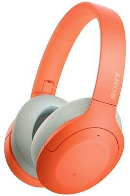 Casque Bluetooth Sony WH-H910N - Réduction de bruit, compatible Google Assistant / Alexa, Orange