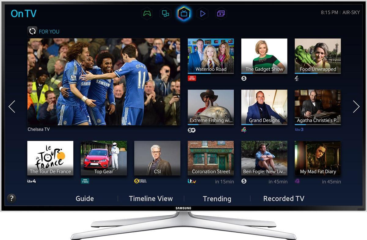 "TV 55"" Samsung UE55H6400 Smart TV 3D"