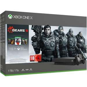 Console Microsoft Xbox One X 1To + Gears 5