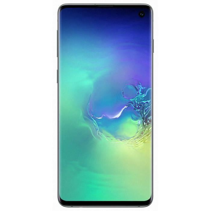 "Smartphone 6.1"" Samsung Galaxy S10 - 8 Go RAM, 512 Go, Vert Prisme (553,52€ avec le code FEBSHOT12)"