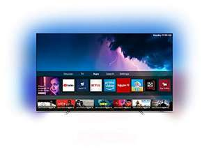 """TV 55"""" Philips 55OLED754/12 - UHD 4K, OLED, HDR, Smart TV, Ambilight 3 Côtés, Dolby Vision / Atmos"""