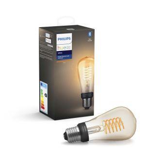 Sélection d'ampoules Philips Hue Filament en promotion - Ex : Ampoule Philips Hue White ST64 E27 - Bonneuil (94)