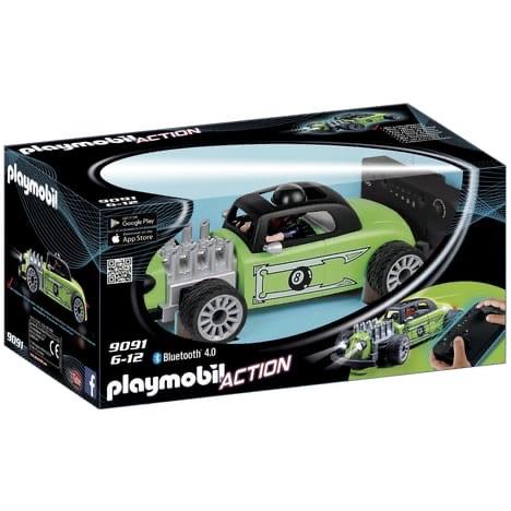 Playmobil Action 9091 - Voiture de course radiocommandée verte (via 16,50€ sur la carte fidélité)